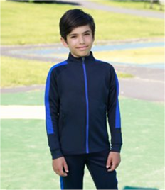 Finden and Hales Kids Knitted Tracksuit Top