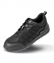 Result Work-Guard All Black SRA SB Safety Trainers