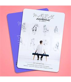 200 x Rounded Flyer/ Leaflet